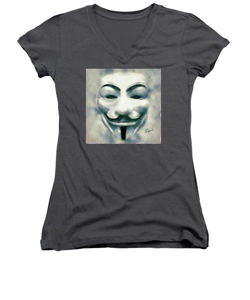 Anonymous Women's V-Neck