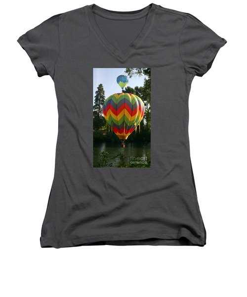 Another Bright Idea Women's V-Neck T-Shirt