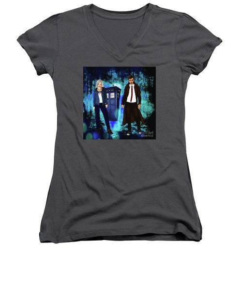 Another Unknown Adventure Women's V-Neck
