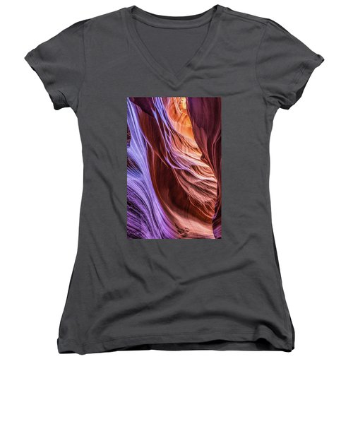 Antelope Canyon Air Glow Women's V-Neck