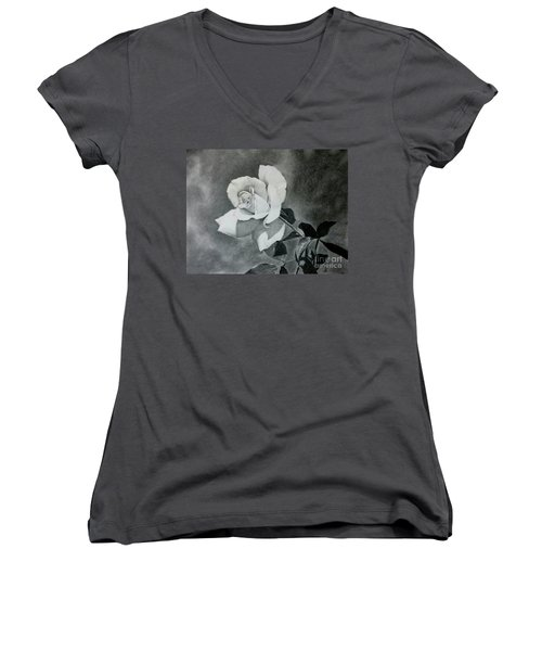 Aperitif Rose Women's V-Neck T-Shirt