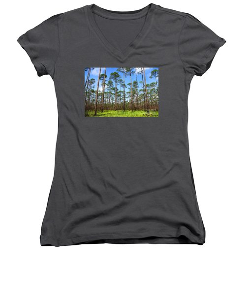 Appalachicola National Forest Women's V-Neck