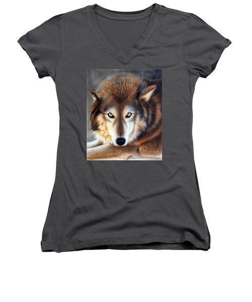 Apparition Women's V-Neck T-Shirt