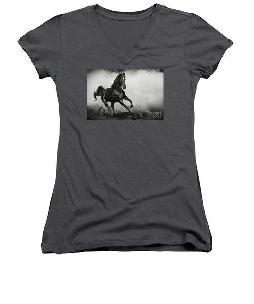 Arabian Horse Women's V-Neck