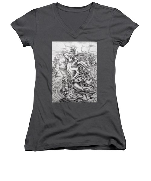 Arch Angel Women's V-Neck T-Shirt