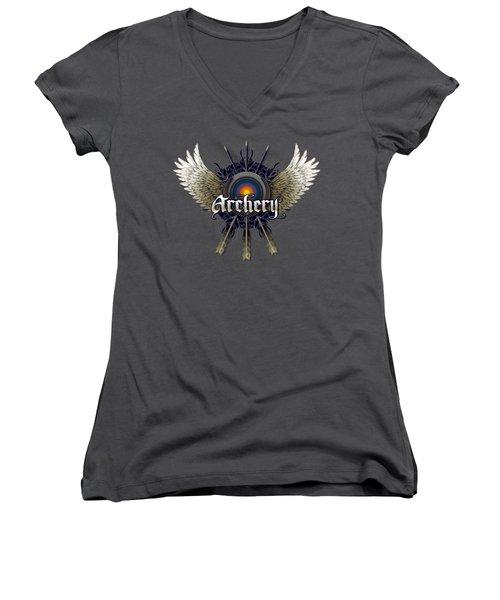 Archery Wings Women's V-Neck