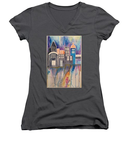 Arches Women's V-Neck (Athletic Fit)