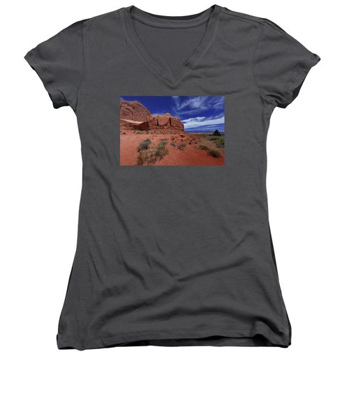Arches Scene1 Women's V-Neck (Athletic Fit)