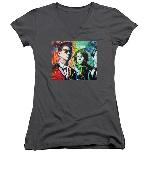 Arctic Monkeys Women's V-Neck T-Shirt