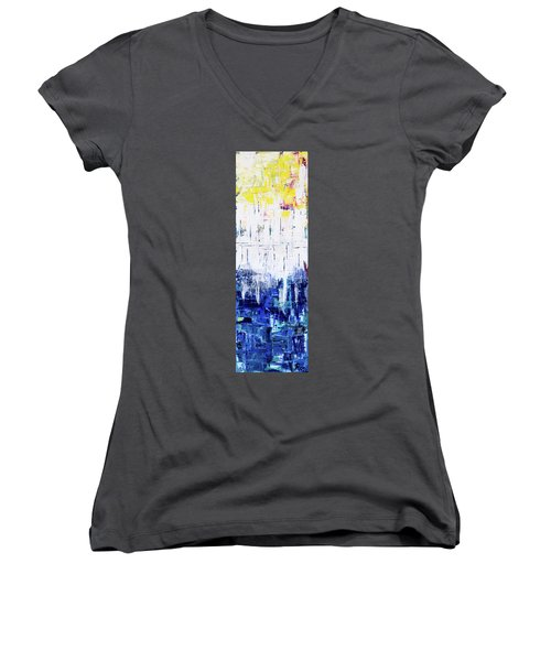 Arctic Spring Women's V-Neck T-Shirt