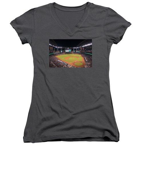 Arizona Diamondbacks Baseball 2591 Women's V-Neck T-Shirt