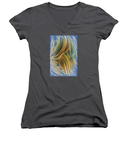 Arrhythmia And Blues Women's V-Neck T-Shirt