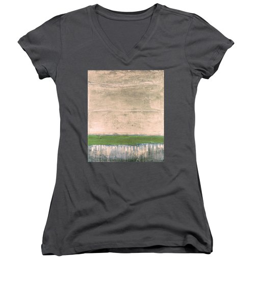 Art Print Nez Perce Women's V-Neck (Athletic Fit)