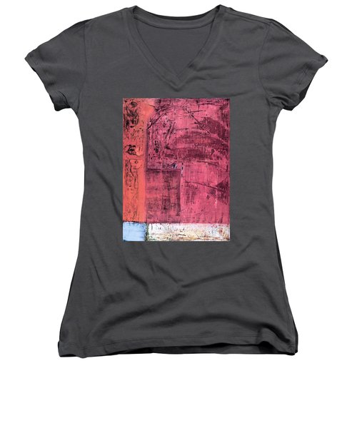 Art Print Redwall 3 Women's V-Neck (Athletic Fit)