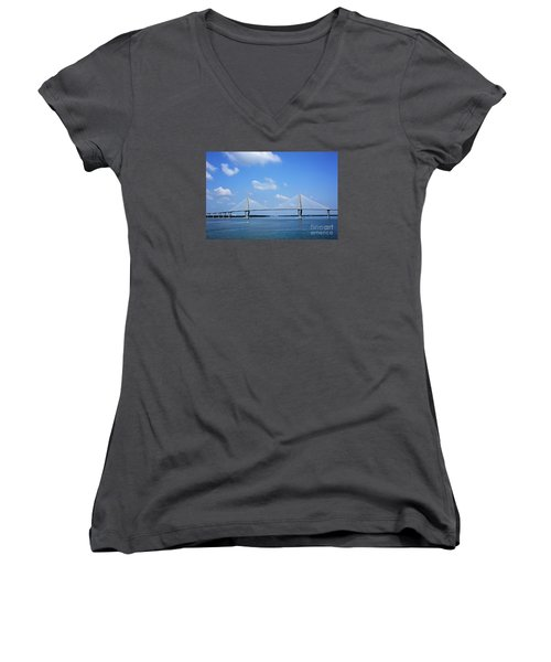 Arthur Ravenel Jr. Bridge - Charleston Women's V-Neck