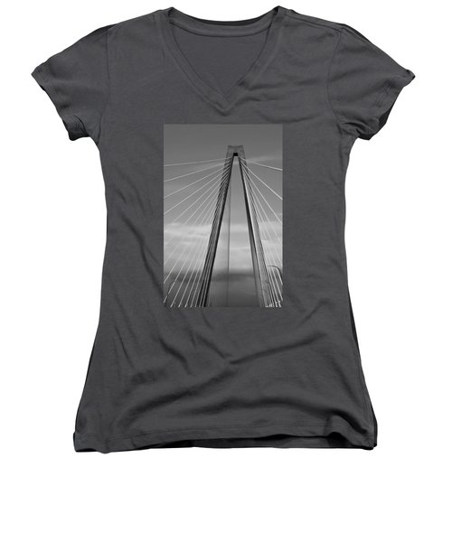 Arthur Ravenel Jr Bridge II Women's V-Neck T-Shirt