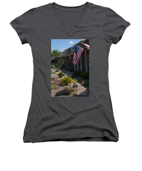 Cactus Amongst The Art Women's V-Neck