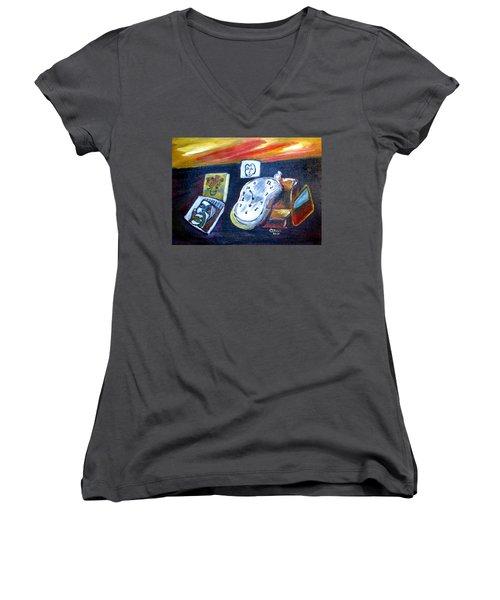 Artists Dream Women's V-Neck T-Shirt (Junior Cut)