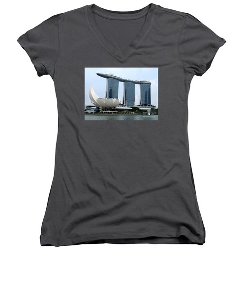 Artscience 5 Women's V-Neck T-Shirt