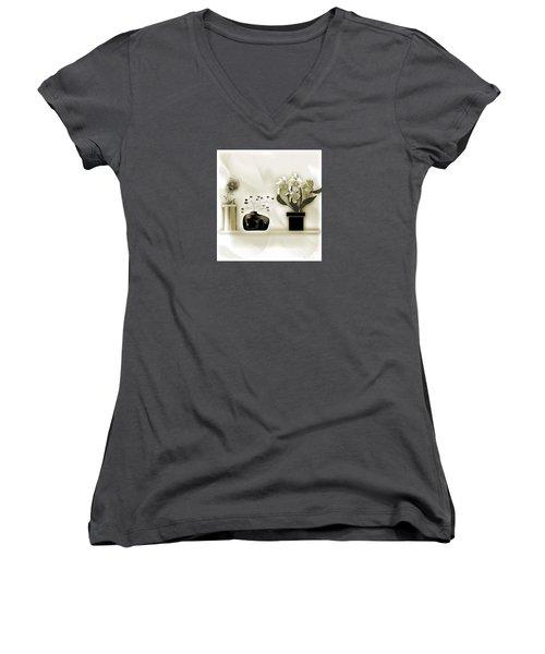 Vase 3 Women's V-Neck T-Shirt