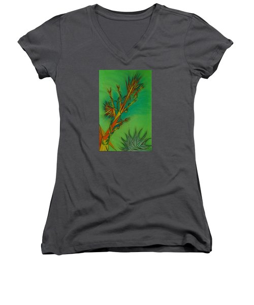 Paralex10 Women's V-Neck T-Shirt