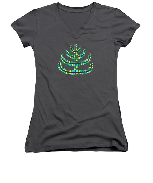 A Little Birdy Told Me.. Women's V-Neck (Athletic Fit)