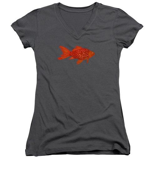 Goldfish  Women's V-Neck T-Shirt