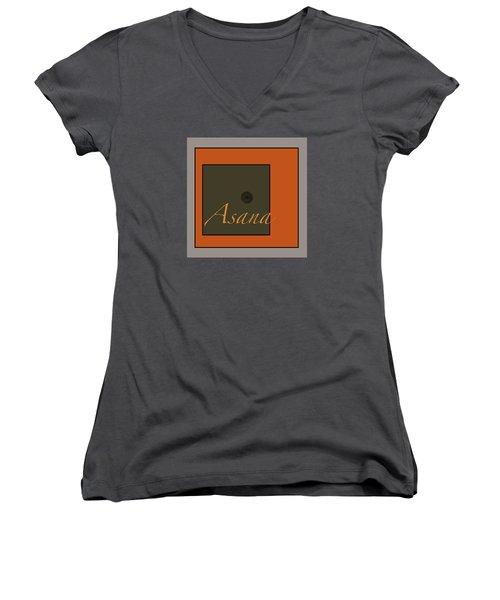 Asana Women's V-Neck T-Shirt