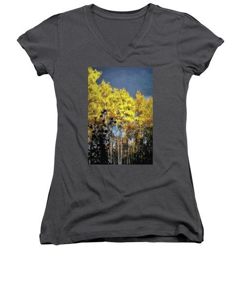 Aspen Impressions Women's V-Neck T-Shirt
