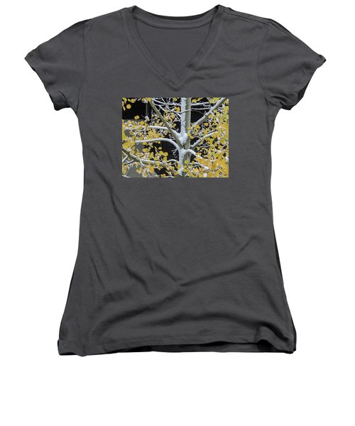 Aspen Snow Women's V-Neck