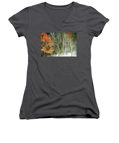 Aspens And Color Women's V-Neck (Athletic Fit)
