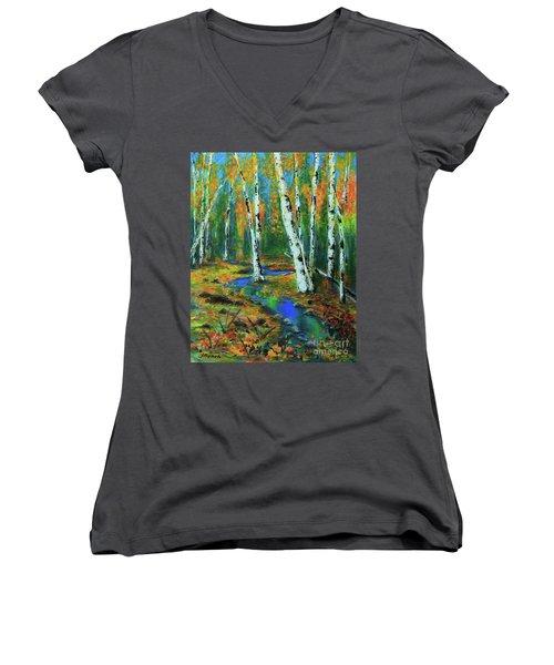 Aspens Women's V-Neck T-Shirt