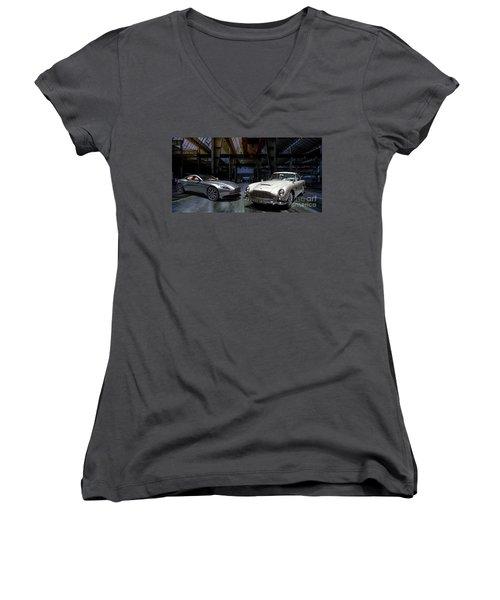 Aston Martin Db5 Db11 Women's V-Neck (Athletic Fit)