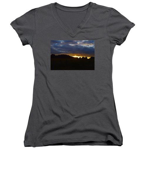 At First Light Women's V-Neck (Athletic Fit)