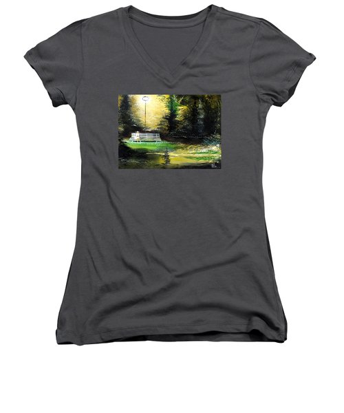At Peace Women's V-Neck