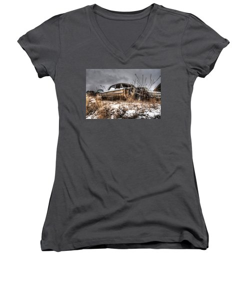 At The Top Women's V-Neck