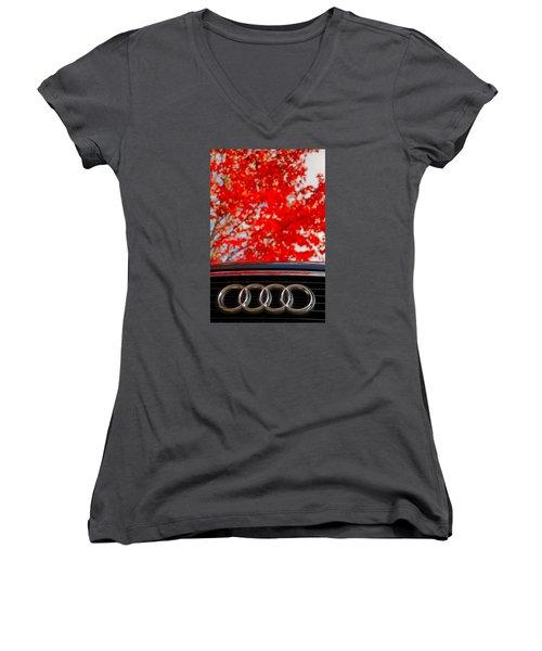 Audi Women's V-Neck