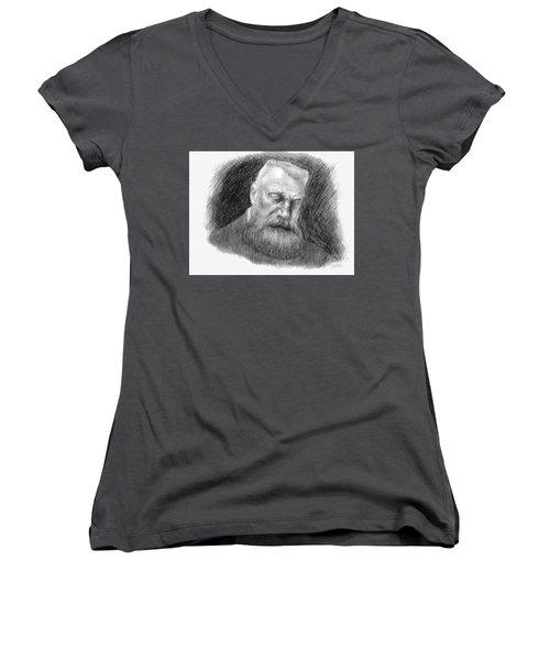 Auguste Rodin Women's V-Neck