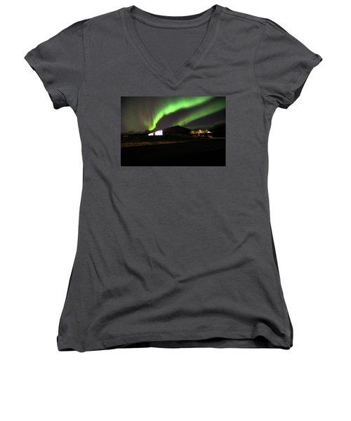 Aurora Borealis - 1 Women's V-Neck
