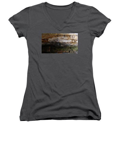 Autograph Of A Cold Blooded Killer Women's V-Neck (Athletic Fit)