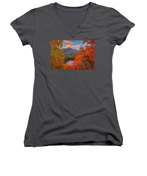 Autumn's Breath Women's V-Neck