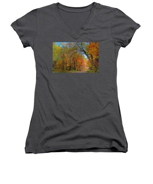 Autumn Light Women's V-Neck
