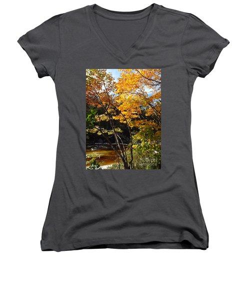 Autumn River Women's V-Neck