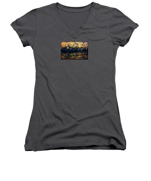 Autumn's Masterpiece Women's V-Neck T-Shirt