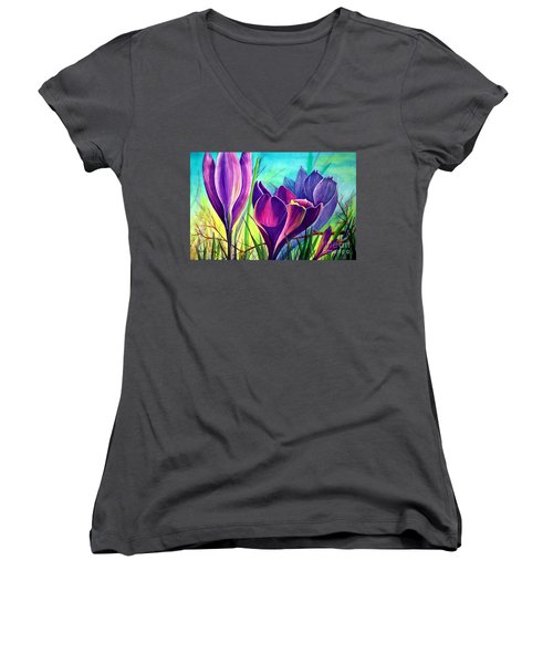 Awakening Women's V-Neck