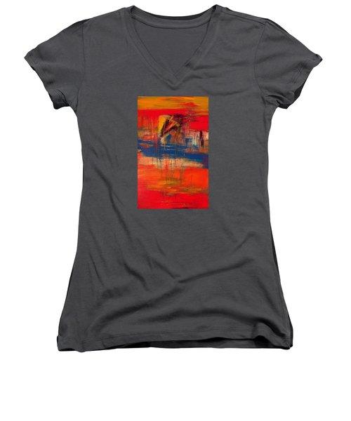 AXE Women's V-Neck T-Shirt