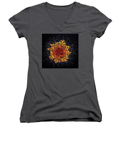 Baby Bell Peppers Women's V-Neck