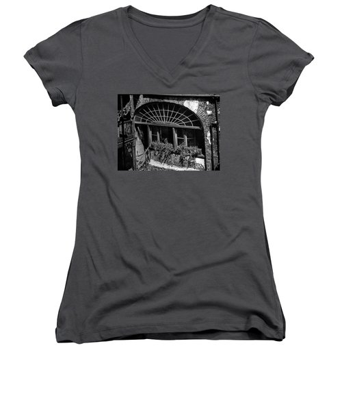 Back Door Women's V-Neck T-Shirt