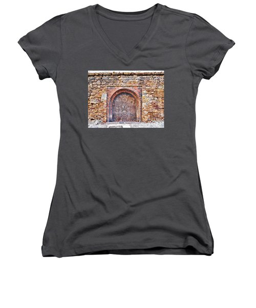 Back To Medieval Times Women's V-Neck T-Shirt