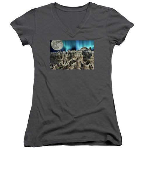 Badland's Borealis Women's V-Neck T-Shirt